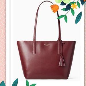 NWT Kate Spade Cherrywood Emilia Large Tote Bag